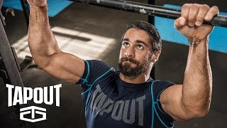 Behind the scenes of Seth Rollins' workout, powered by Tapout