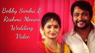 Bobby Simha & Reshmi Menon Wedding video: Bobby Simha Reshmi Menon Marraige Tirupati