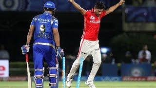 IPL 2016 - Kings XI Punjab vs Mumbai Indians - Kings XI Punjab Beat Mumbai Indians By 7 Wickets