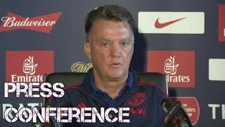 Louis Van Gaal Focused On Final - Crystal Palace vs Man United - Louis Van Gaal Press Conference