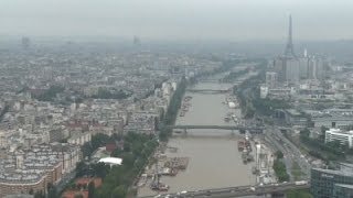 Raw: Aerials of Widespread Flooding in France