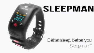 New Wearable Gadget To Help You Sleep Better | Sleepman