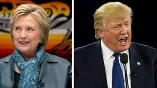 New poll shows Trump, Clinton neck and neck