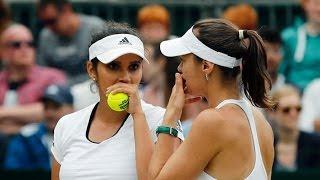 Wimbledon 2016 - Quarter-Finals - Sania Mirza And Martina Hingis Knocked Out Of Wimbledon