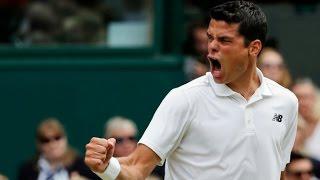 Wimbledon 2016 - Milos Raonic beats Roger Federer in five sets to reach Wimbledon final