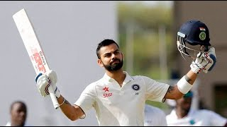 India vs West Indies, 1st Test Day 2 India s Lion Virat Kohli hits First double against West Indies