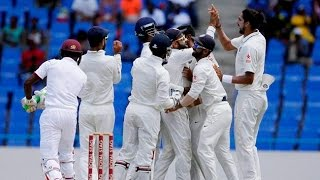 India vs West Indies: India wins first test against West Indies
