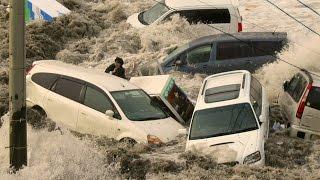 MEGA TSUNAMI - Caught on camera - Tsunami Earthquake Japan 2011 - Most Shocking Tidal Wave Video