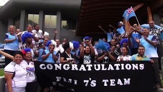 Fiji celebrates first ever Olympic medal, gold in rugby sevens