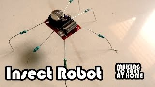 How to make Mini Insect Robot Spider Robot Very Easy & Super Simple!