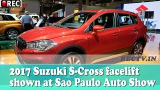 2017 Suzuki S Cross facelift shown at Sao Paulo Auto Show II latest automobile updates