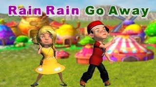 Rain, Rain, Go Away Nursery Rhyme - Kids 3D Animated Song For Kids - Childrens SongsTSP Kids Rhymes