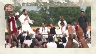 Kisan Yatra: Congress VP Rahul Gandhi holds 'Khat Sabha' in Ambedkar Nagar (UP)