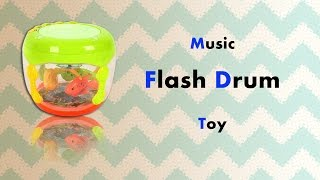 Music Flash Drum Toy - Toys - toys for girls - toys for children - Kids Toy World