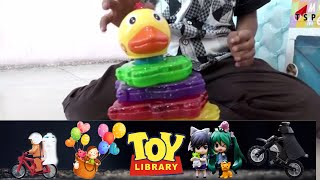 Duck Star Classical Stacker - Classic Musical Stacking Toy Lights Up - Kids toy world