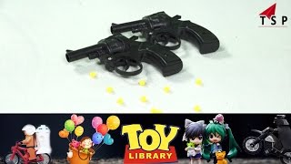 Toy Gun - Bull dog revolver| Rubber bullets - Kids Toy World