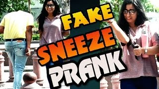 April fool Sneeze prank on girls gone wrong ft  Madnesspranks 2017