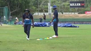 Ind VS Sri Lanka 2017 : Sri Lanka Sweats out at Practice Session for ODI