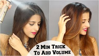 How to Use Dry Shampoo On Greasy Hair & Add Volume/ Oily Hair Tips & Tricks