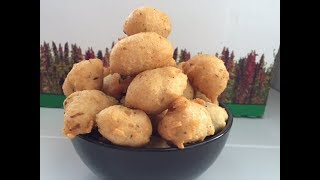 Lentils Fritters Recipe | Vadai Dal Pakora Bhajiya | Easy Medu Vada Bites Recipe