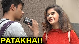 Calling Hot Girls PATAKHA in Diwali Social Experiment n Pranks in India INTERVIEW