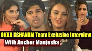 Okka Kshanam Team Exclusive Interview With Anchor Manjusha | Surabhi | Seerat Kapoor | Top Telugu TV