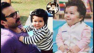 Taimur Ali Khan Looks Super Cute In This Latest Picture || Taimur Ali Khan Cute Expressions