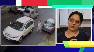 Shocking video : Man Assaults lady teacher in broad daylight    Shocking incident    Delhi Darpan TV