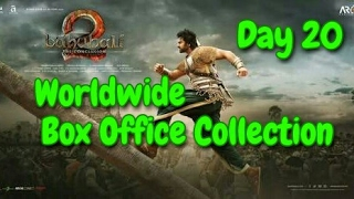 Bahubali 2 Worldwide Box Office Collection Day 20