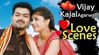 Vijay Kajal Agarwal Love Scenes - Back To Back - Latest Telugu Love Scenes - Best Love Scenes