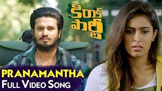 Pranamantha Full Video Song | Kirrak Party Full Video Songs | Nikhil Siddharth | Samyuktha | Simran