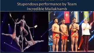 Incredible Indian's || Incredible Mallakhamb || International Stage|| Paris 2017 ||