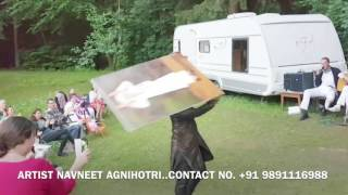 Austria  Europe  Navneet Agnihotri   Live Sai Baba Painting
