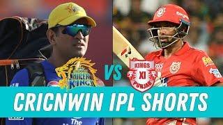 Chennai Super Kings vs Kings XI Punjab | Pre Match analysis | Cricnwin IPL Shorts | Vivo IPL 2018