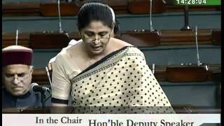 Discussion on the Budget (General) for 2010-11: Smt. Jyoti Dhurve: 12.03.2010