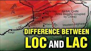 Difference between LOC and LAC | Line of Control | Line of Actual Control | India Matters