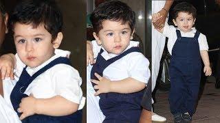 Cute Taimur Ali Khan's Baby Steps, Watch The Cute Video