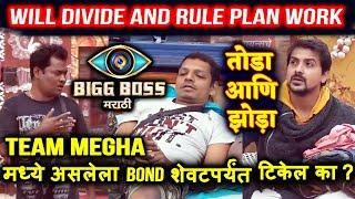Nandkishor And Bhushan WANTS To Break Megha Team   Will they Succeed   Bigg Boss Marathi