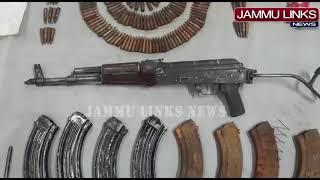 Terrorist hideout busted in Kashmir