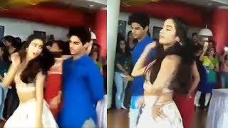 Janhvi Kapoor & Ishaan Khattar's Crazy Zingaat Dance From Dhadak Movie