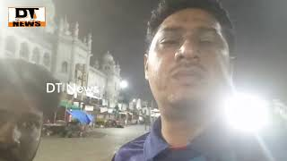 Charminar | Night bazar | Dosa | Idly Food | Tea in Late Night at Charminar - DT News