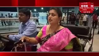 Indigo airplanes survived while landing at Hyderabad International Airport during landing