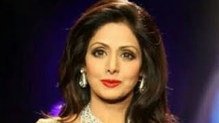 CAMERAS AREN'T ALLOWED INSIDE BUT SOMEBODY MANAGED TO DO IT ANYWAY....RIP SRI DEVI...