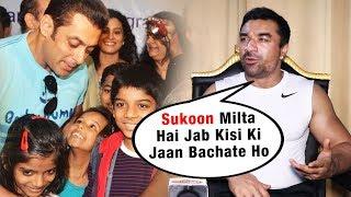 Ajaz Khan Reaction On His Allah Ke Bande Foundation Vs Salman's Being Human