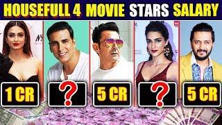 Akshay Kumar Charges HUGE Amount For HOUSEFULL 4 | Salary Of Housefull 4 Cast