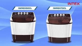 Semi - Automatic Washing Machine