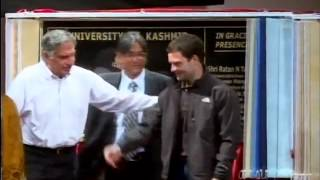 Rahul Gandhi Interacting with the Students of Kashmir University