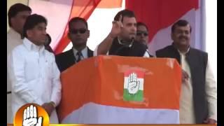 Rahul Gandhi at the MBC Public Meeting at Akbarpur, Kanpur Dehat, 17th December 2011