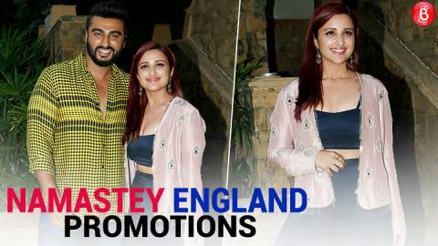 Arjun Kapoor and Parineeti Chopra Promotes 'Namastey England'