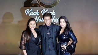 Shahrukh Khan Kajol Rani Mukerji At 20 Years Of Kuch Kuch Hota Hai Grand Celebration